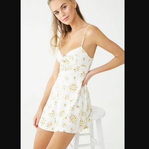 NWT Forever 21 Floral Mini Dress